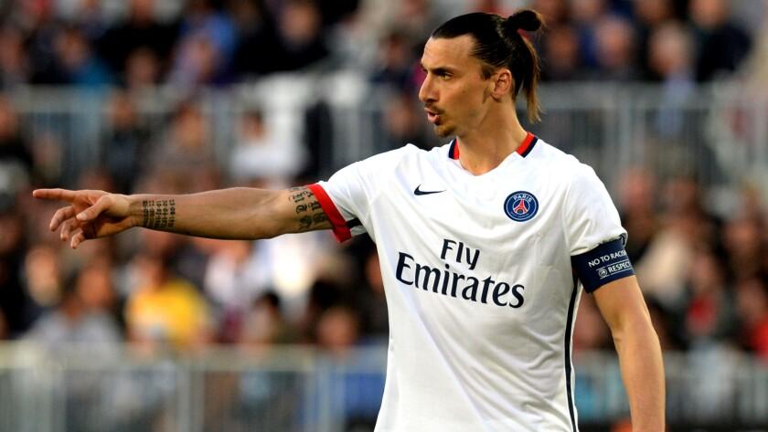 Forward Zlatan Ibrahimovic has led Paris-Saint Germain to four consecutive French league titles.