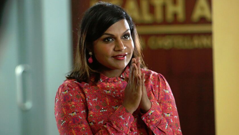 """Mindy Kaling in """"The Mindy Project."""""""