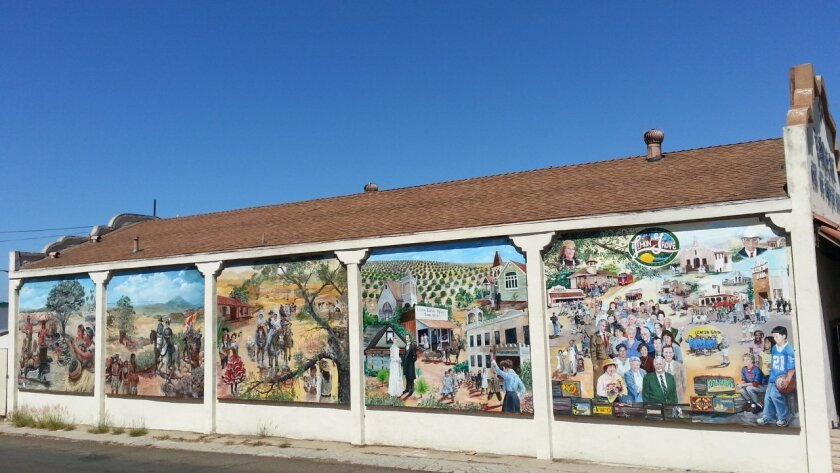 The Lemon Grove History Mural has earned a Governor's Historic Preservation Award for 2014.