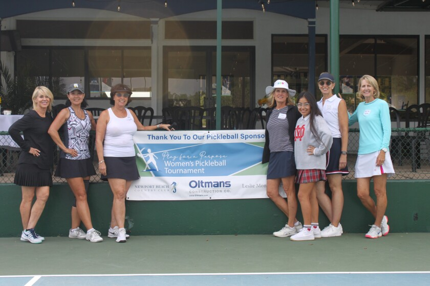 Organizers of the KidWorks' first annual Pickleball tournament.
