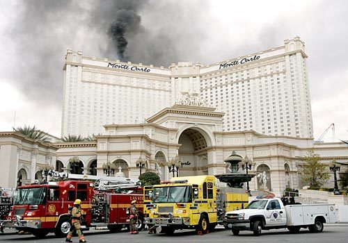 Vegas' Monte Carlo hotel fire