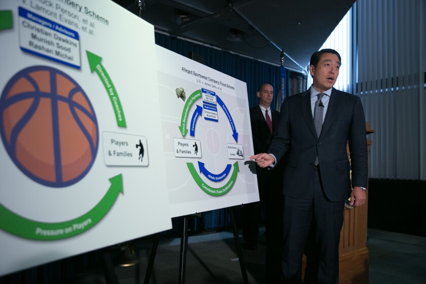 NCAA Coaches Indicted On Federal Bribery And Corruption Charges