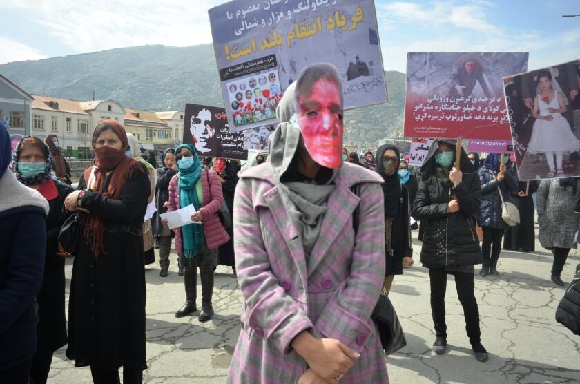 Protesters remember Farkhunda Malikzada
