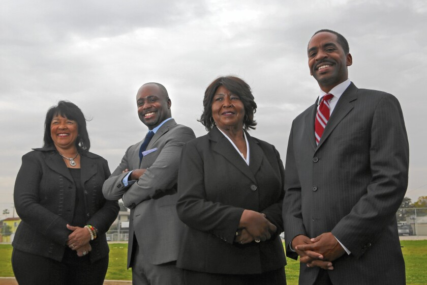 Candidates for the 8th District L.A. City Council seat
