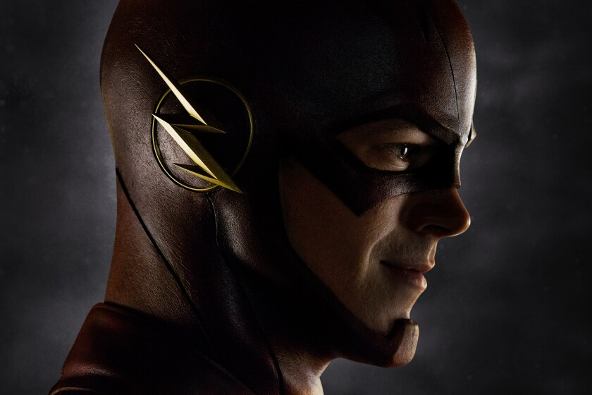 """Grant Gustin as """"The Flash."""""""