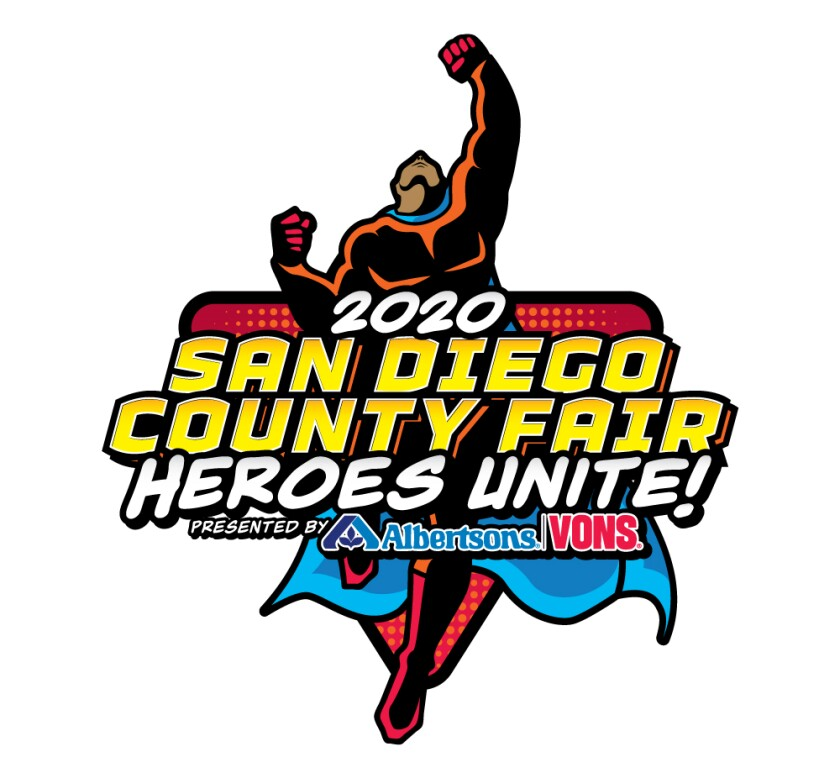 The 2020 San Diego County Fair will have a superhero theme.
