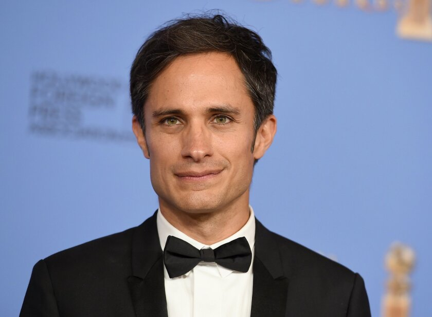 "FILE - In this Jan. 10, 2016 file photo, Gael García Bernal poses in the press room after winning the award for best actor in a television series - musical or comedy for ""Mozart in the Jungle"" at the 73rd annual Golden Globe Awards in Beverly Hills, Calif. (Photo by Jordan Strauss/Invision/AP, File)"