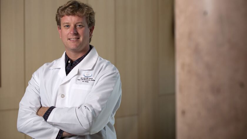 Dr. Mathew Blurton-Jones, pictured, and Dr. Sunil Gandhi are studying why women are twice as likely as men to be diagnosed with Alzheimer's disease.