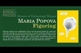 Los Angeles Times Book Prizes: Maria Popova, Science & Technology