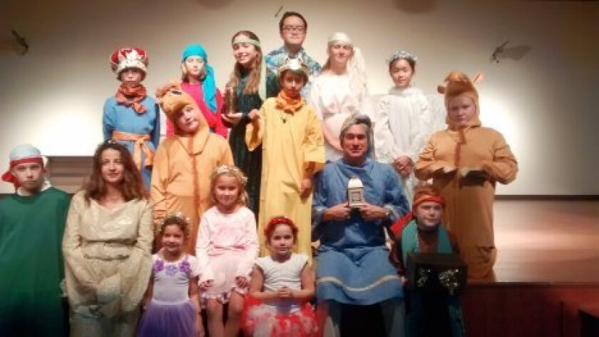 """""""Guidelina and 3 Camels"""" will be performed Sunday, Dec. 14, by parishioners of St. Therese of Carmel Church and students of Notre Dame Academy, San Diego."""