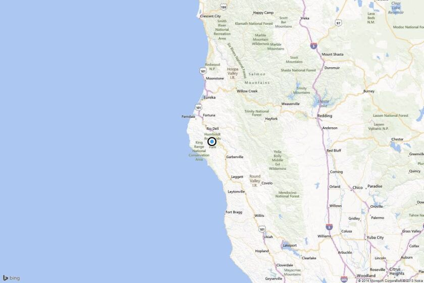 Earthquake: 3.3 quake strikes near Rio Dell, Calif.