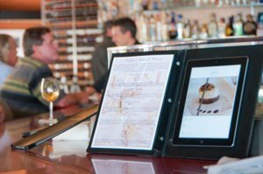 Interactive Bar Menu