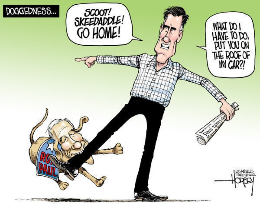 Ron Paul continues to complicate Mitt Romney's coronation