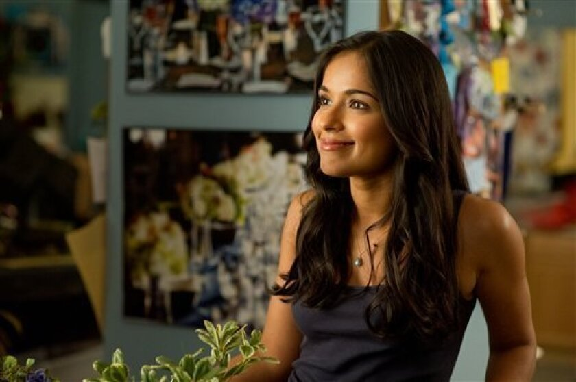 "In this film publicity image released by Sony Pictures, Dilshad Vadsaria is shown in Columbia Pictures' ""30 Minutes or Less."" (AP Photo/Sony-Columbia Pictures, Wilson Webb)"