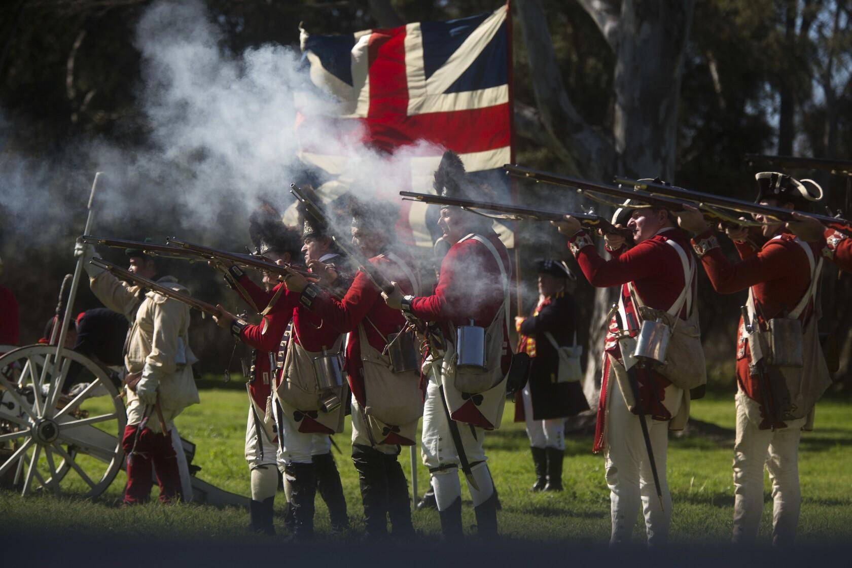 Huntington Beach reenactment revisits American Revolution