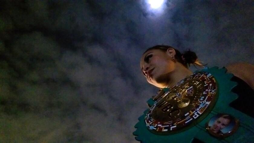 Zulina 'La Loba' Muñoz, campeona mundial Supermosca WBC.