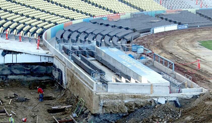 Dodger Stadium remodel includes wider concourses, new scoreboards