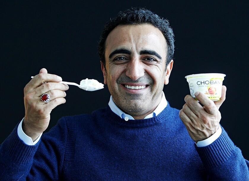 Hamdi Ulukaya, CEO of Chobani Greek Yogurt