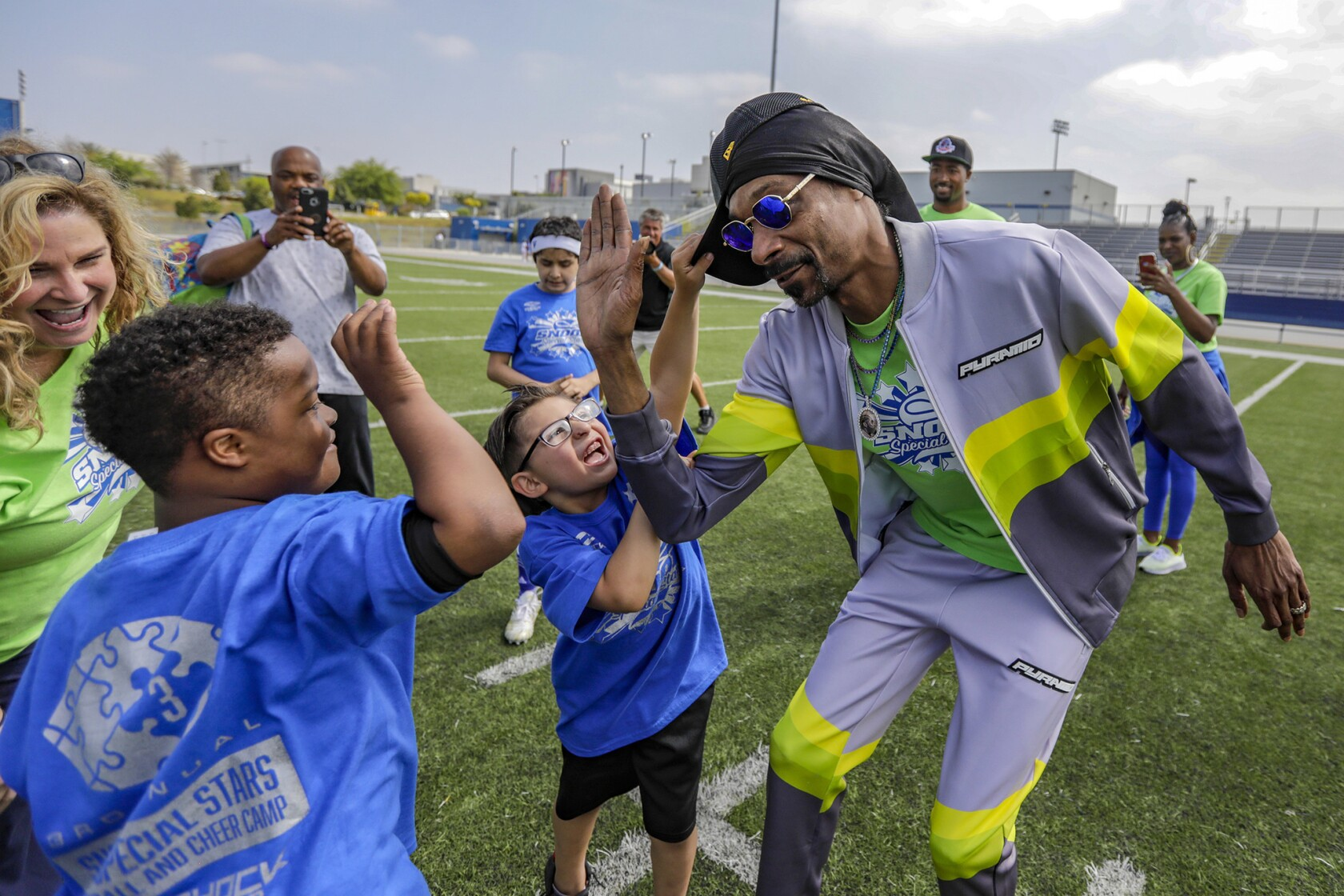 Column: Snoop Dogg's Special Stars youth camp showcases the