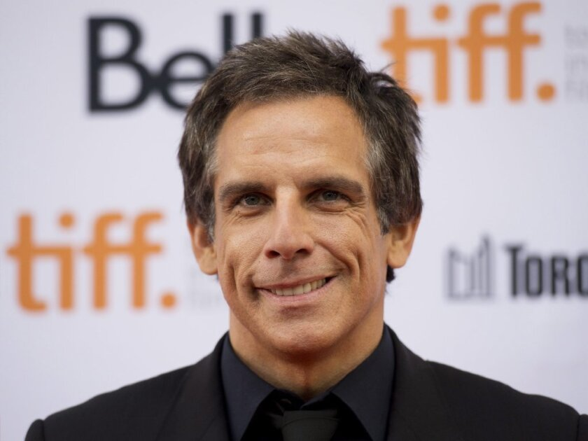 """Ben Stiller attends the Toronto International Film Festival premiere of """"While We're Young"""" on Sept. 6"""