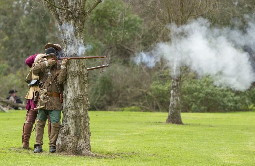 Revolutionary War returns at Huntington Beach reenactment