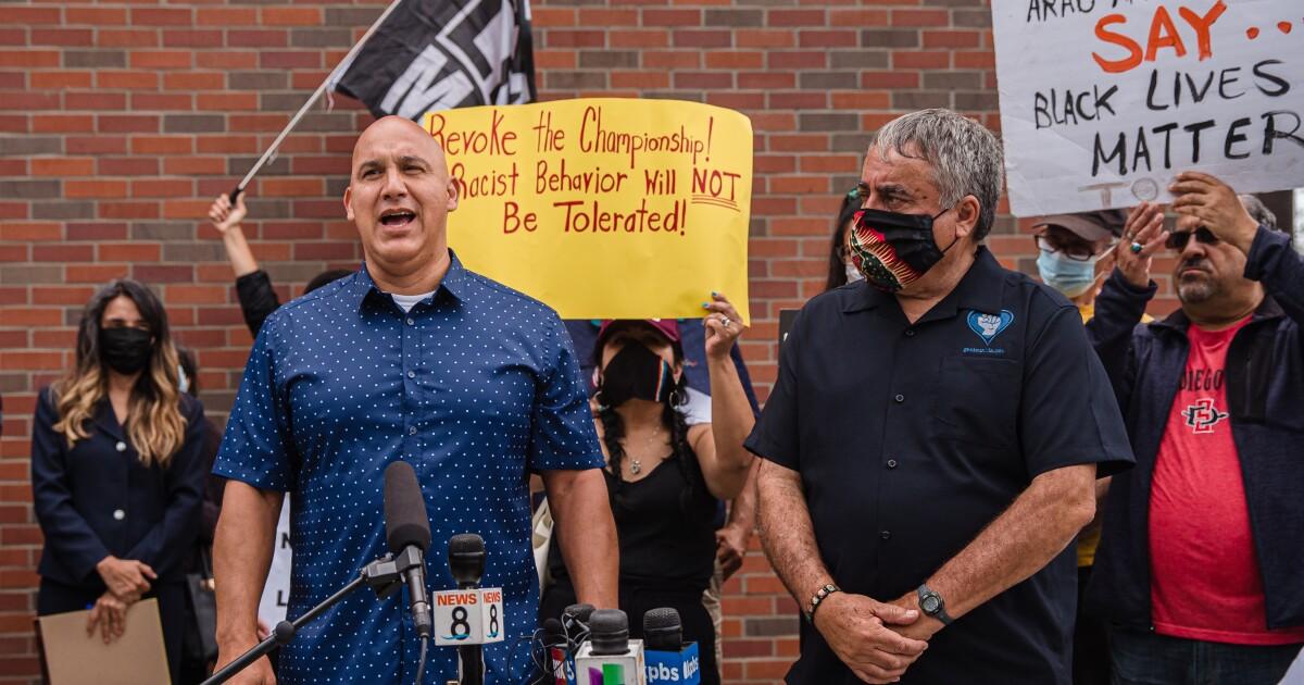 Coronado school board fires head basketball coach over tortilla incident