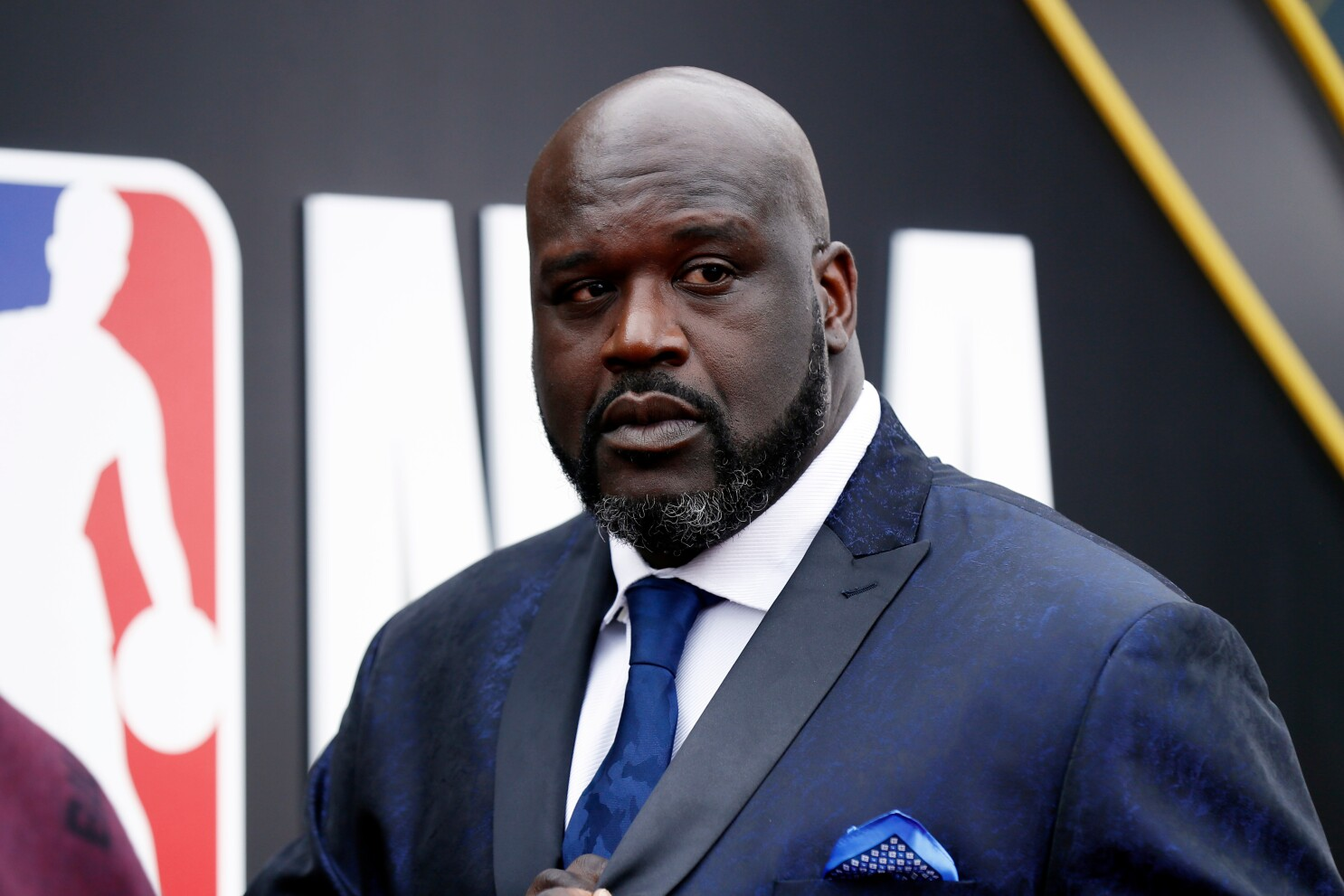 Shaquille O Neal won t have to kiss Steve Kerr s feet with cheese