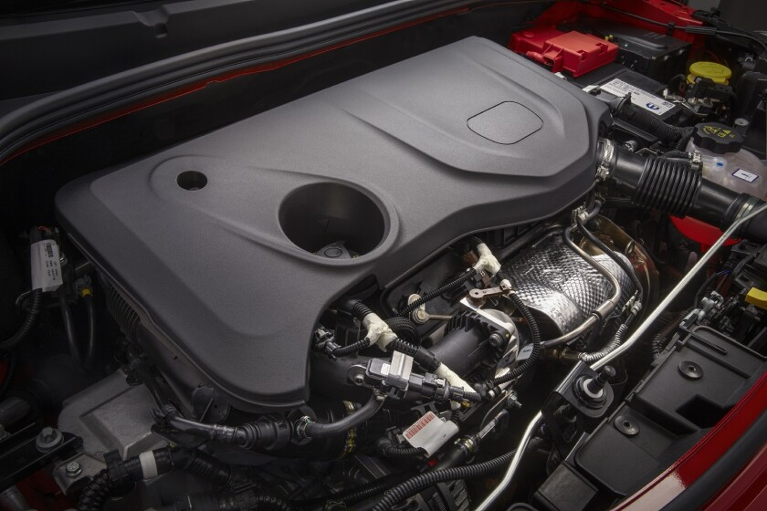 1.3-liter direct-injection turbocharged inline four-cylinder eng