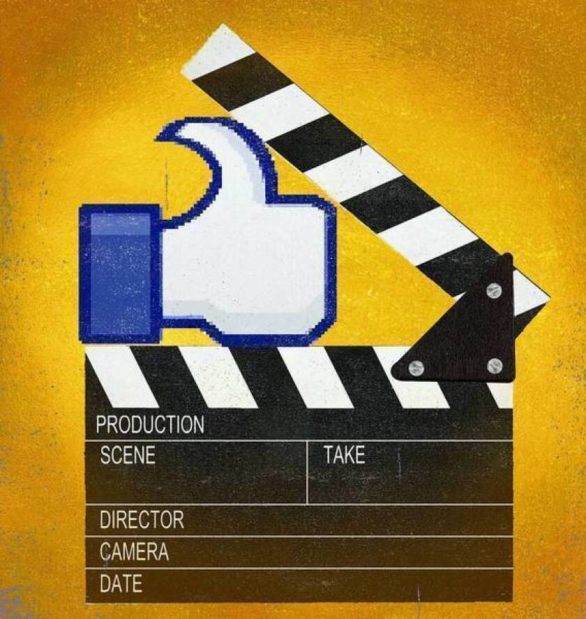 Major studios are taking a hard look at the cost of winning friends on Facebook.