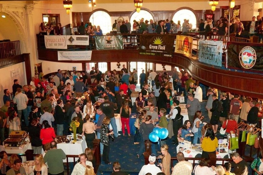 The fifth annual Bankers Hill Arts & Craft Beer Festival is set to return to The Abbey on March 31 (Courtesy photo)