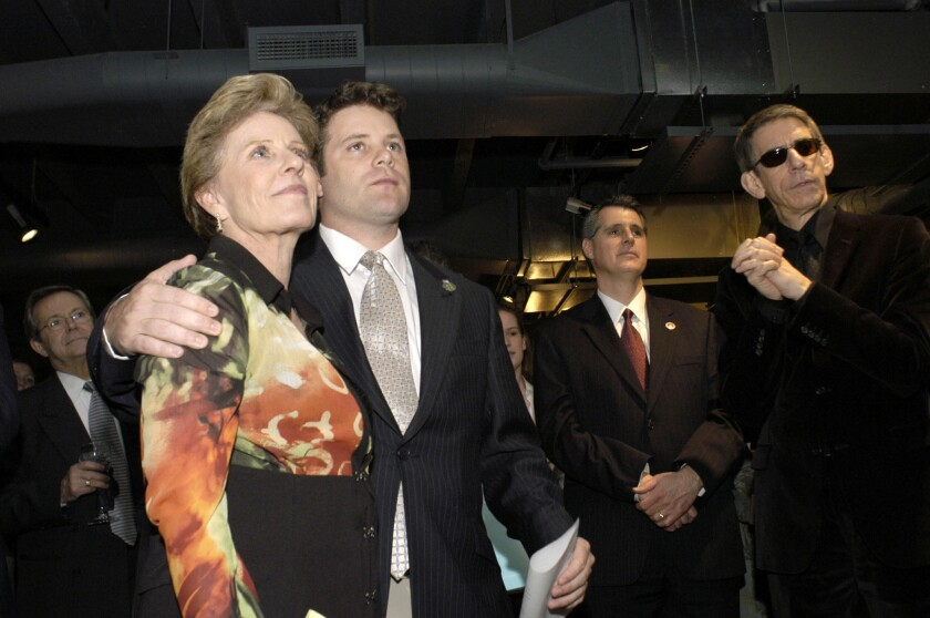 Sean Astin says mother Patty Duke suffered 'terribly' before death