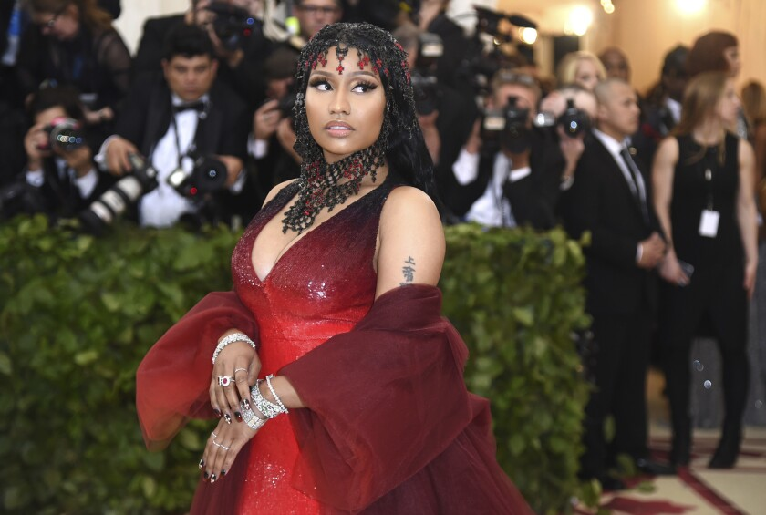 Nicki Minaj announced Monday that she's dropping out of the BET Experience festival.