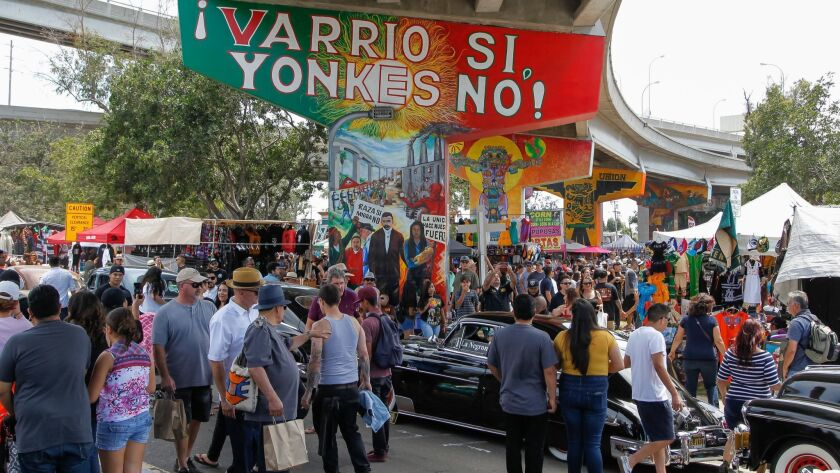 The annual Chicano Park Day celebration returns this Saturday in Logan Heights.