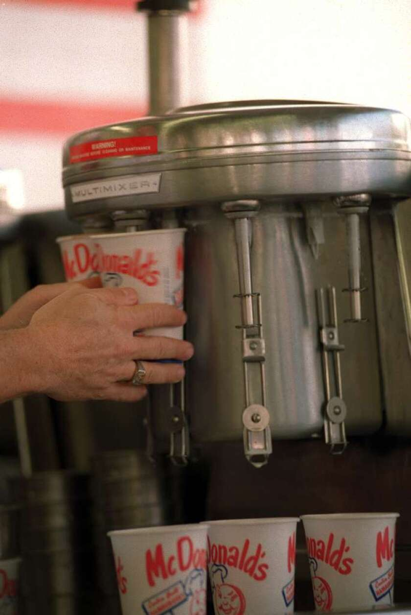 Mmmmm, emulsifiers. They help make fast-food shakes thick and smooth, ketchup and mustard more spreadable, and ice cream, well, creamy. In rats, a new study finds they also cause inflammation of the gut and changes linked to metabolic disorders.