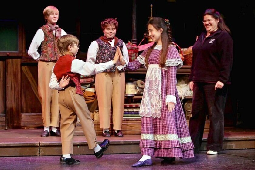 Children take to the SCR stage - Los Angeles Times