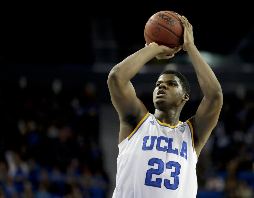 UCLA forward Tony Parker could be the key player if the Bruins want to defeat Southern Methodist in the NCAA tournament.
