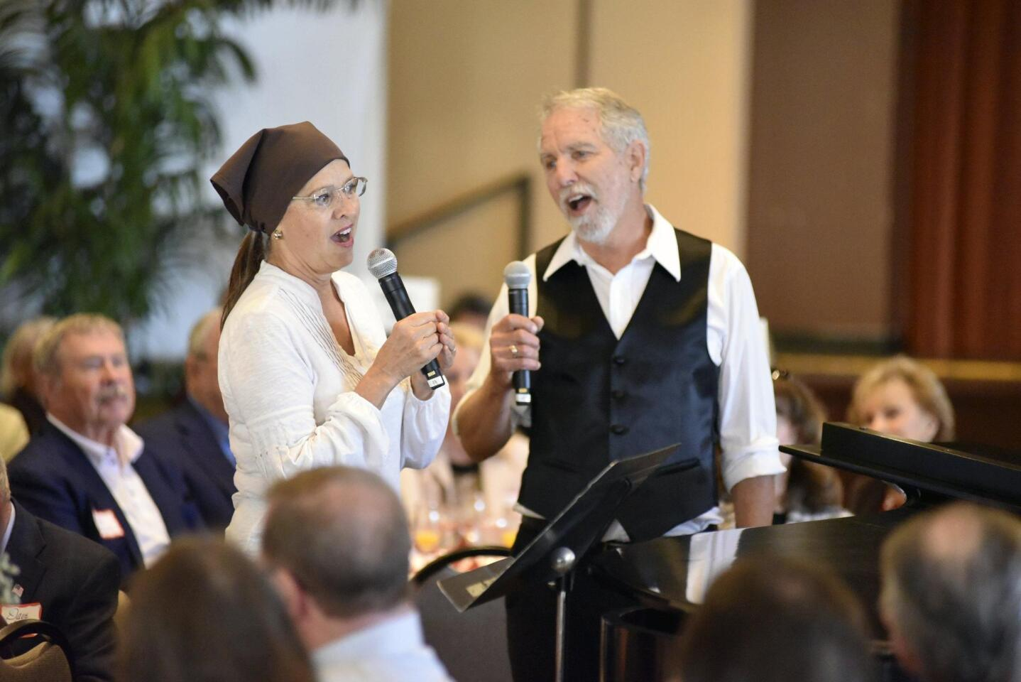 "Susan Gerling and Larry Gerling perform ""Do You Love Me"" from Fiddler on the Roof"