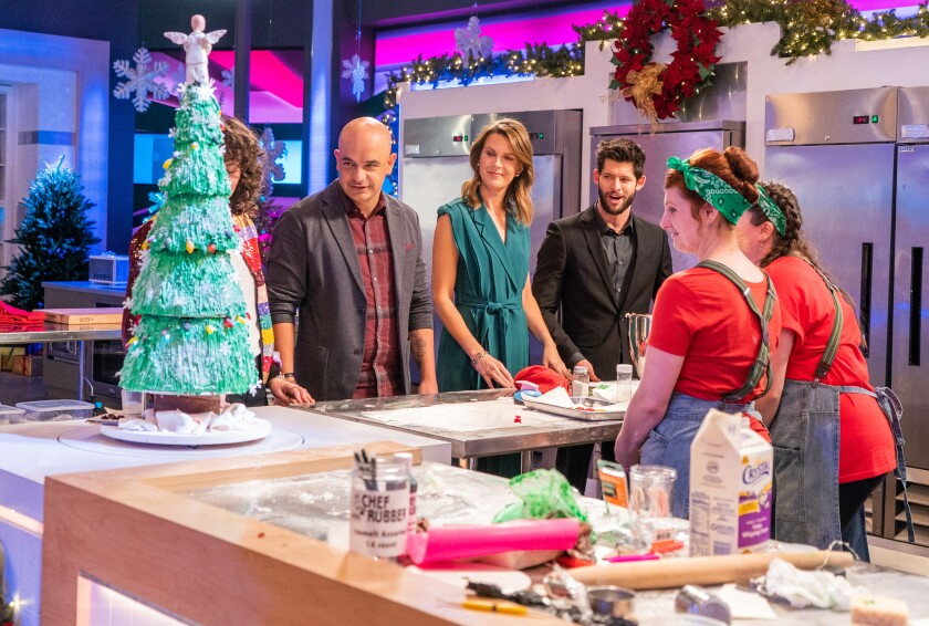 "Carmel Valley native Lisa Altfest, a cake decorator, appears on Netflix's ""Sugar Rush"" with Roanna Canete of The Gluten Free Baking Company in Coronado."