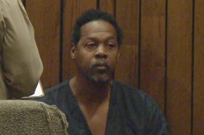 Albert Blake at his Superior Court arraignment in November