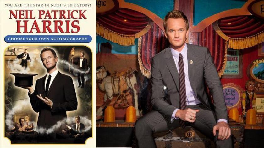 Neil Patrick Harris' memoir lets readers choose their own adventures.