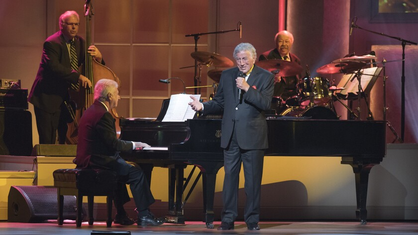 """""""Tony Bennett: The Library of Congress Gershwin Prize for Popular Song."""" on PBS."""