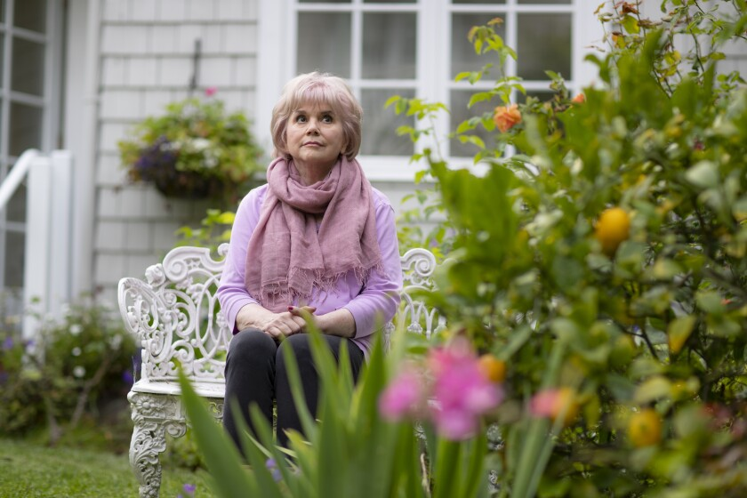 "Linda Ronstadt, 73, at her home in San Francisco. ""I've never felt that music is a competition,""  she says."