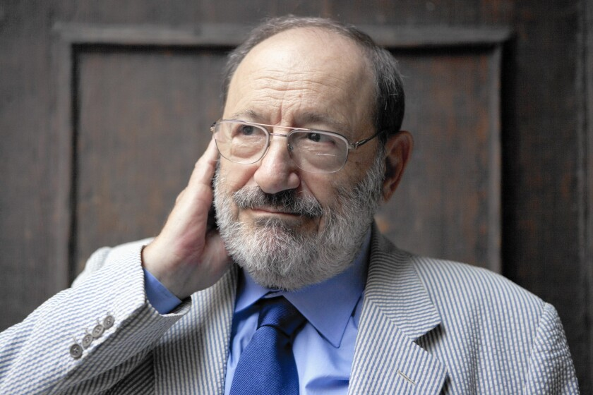 Author Umberto Eco