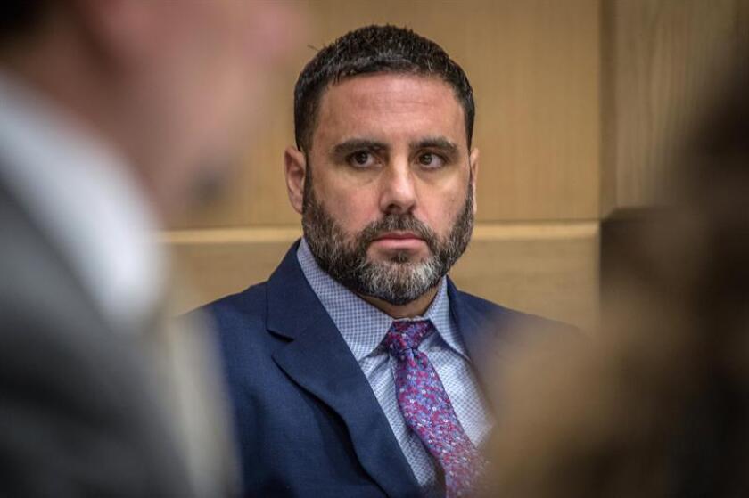 El hispano-estadounidense Pablo Ibar comparece en la Corte Estatal de Florida en Fort Lauderdale, Florida (EE.UU.). EFE/Archivo