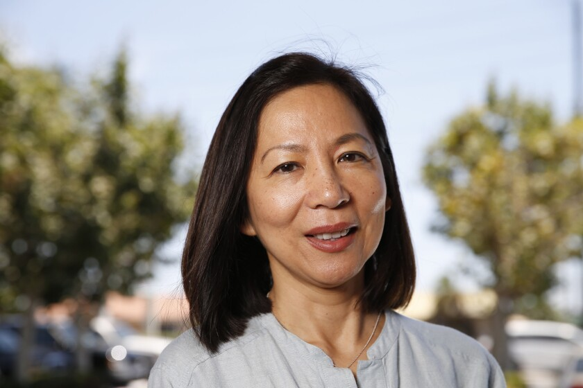 Yorba Linda pediatrician and Democrat Mai Khanh Tran is challenging the reelection bid of Rep. Ed Royce (R-Fullerton).