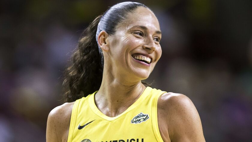 Sue Bird and the Storm had plenty to smile about last season when winning the WNBA title.