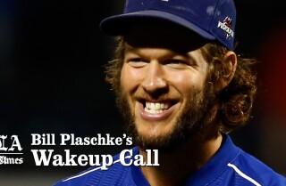 Bill Plaschke's Wakeup Call: Kershaw's curse is broken