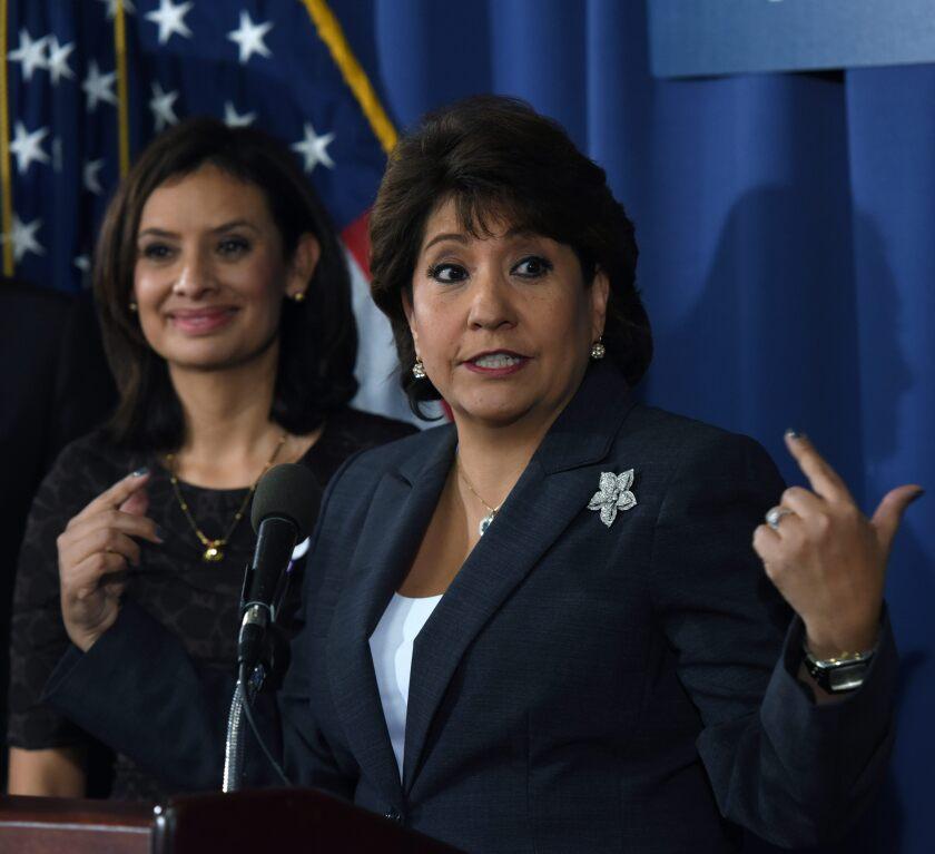 Maria Teresa Kumar y  Janet Murguia