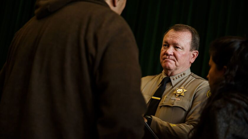 "Sheriff Jim McDonnell ""is committed to transparency,"" a spokeswoman says."