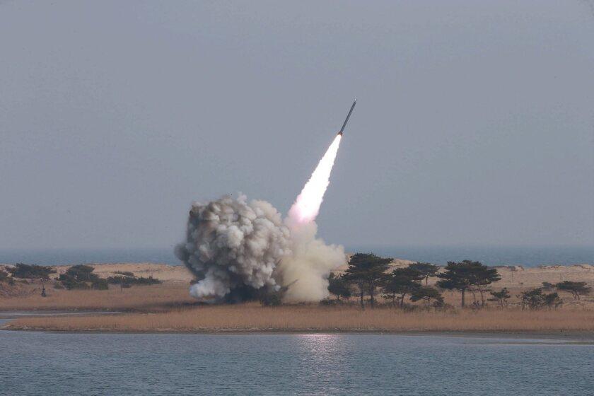 Rocket system test
